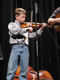 Photo of a Young Fiddler